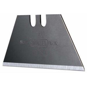 Леза запасні для оздоблювальних робіт, трапецевідние тисячі дев'ятсот дев'яносто одна з отворами, довжиною 50 мм, шириною 19 мм, товщиною 0.45 мм, 100 штук STANLEY 1-11-908 STANLEY