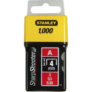 Скоби тип А висотою 4 мм, для степлера ручного Light Duty, в упаковці 1000 шт STANLEY 1-TRA202T