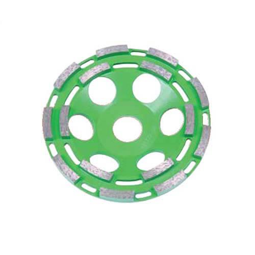 Шліфчашка алмазна 115х22мм двухрядная CEDIMA 10003596