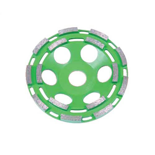 Шліфчашка алмазна 125х22мм двухрядная CEDIMA 10003599