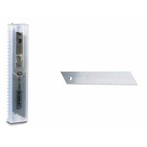 Леза запасні шириною 9 мм з сегментами, що відламуються для ножів з висувними лезами, 5 штук STANLEY 2-11-300 STANLEY