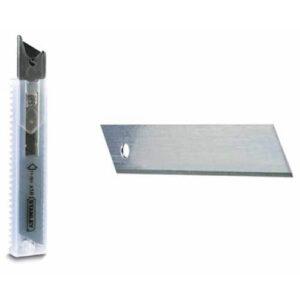 Леза запасні шириною 18 мм з сегментами, що відламуються для ножів з висувними лезами, 5 штук STANLEY 2-11-301 STANLEY