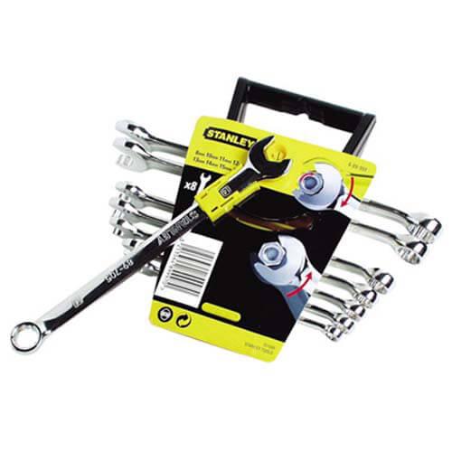 Набір з восьми комбінованих ключів Accelerator STANLEY 4-89-997 STANLEY