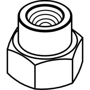 адаптер M10x1 LH.F. TECOMEC