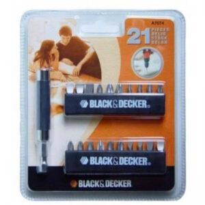 Набір біт BLACK + DECKER A7074 BLACK+DECKER