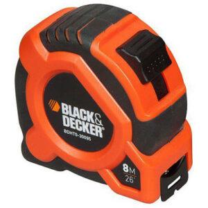 Рулетка вимірювальна 8 метрів BLACK + DECKER BDHT0-30095