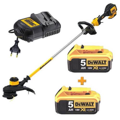 Коса акумуляторна бесщеточний DeWALT DCM561P1 + DCB184 DeWALT