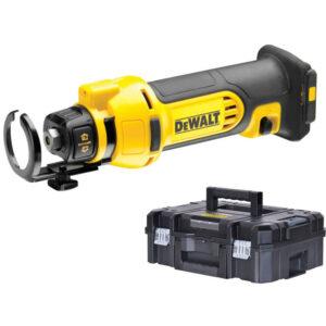 Фрезер акумуляторний для вирізання гіпсокартону DeWALT DCS551NT