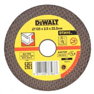 Круг відрізний по металу DeWALT DT3410-QZ DeWALT
