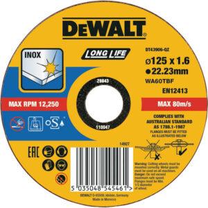 Круг відрізний DeWALT DT43906 DeWALT