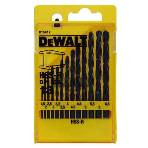 Набір свердел по металу HSS-R DeWALT DT5912
