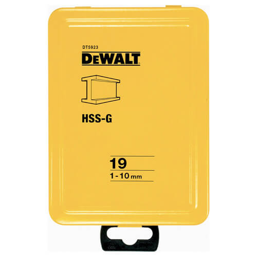 Набір свердел по металу HSS-G DeWALT DT5923