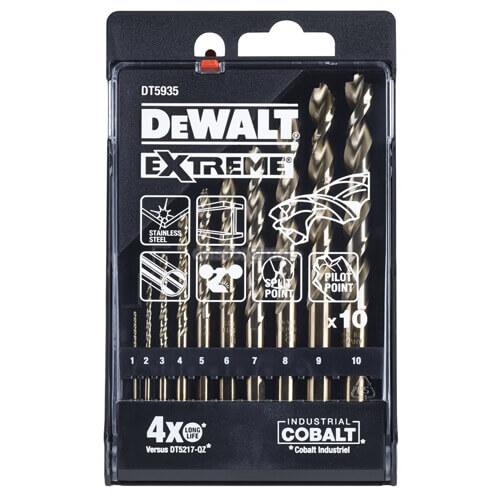 Набір свердел по металу DeWALT DT5935