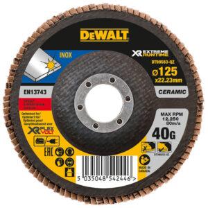 Коло шліфувальний пелюстковий вигнутий DeWALT DT99583 DeWALT