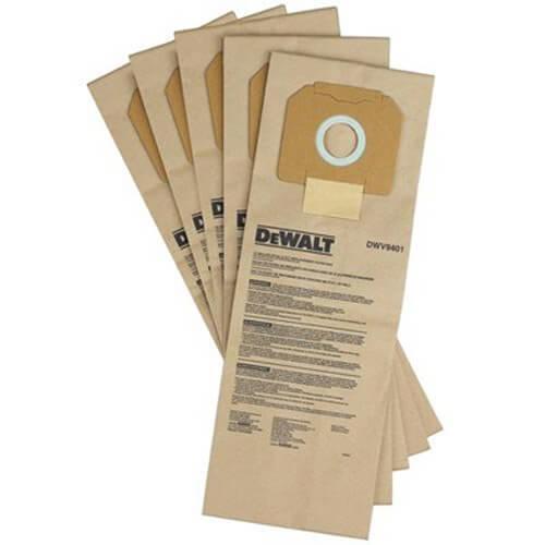 Мішки одноразові паперові для пилососа DWV902L DeWALT DWV9401 DeWALT