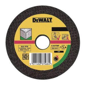 Круг відрізний по каменю, 115×2.5×22.23 мм, DeWALT DT3401-QZ DeWALT