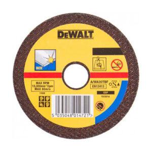 Круг відрізний по металу INOX 230х22.23х2.8мм DeWALT DT3449-QZ DeWALT