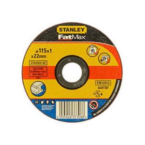 Круг відрізний по металу 115x1x22.23 мм, тип DPC, STANLEY STA32632 STANLEY