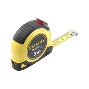 Рулетка вимірювальна Tylon ™ Dual Lockдліной 3 м, шириною 13 мм, в пластмасовому корпусі STANLEY STHT36802-0