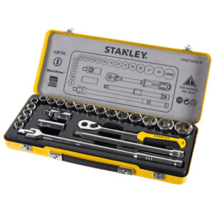 Набір головок торцевих 1/2 з двадцяти чотирьох предметів STANLEY STMT74183-8 STANLEY