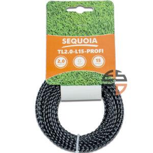 Косильна волосінь SEQUOIA TL2.0-L15-Profi SEQUOIA