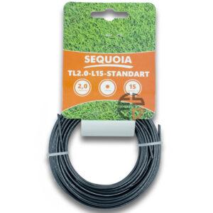 Косильна волосінь SEQUOIA TL2.0-L15-Standart SEQUOIA