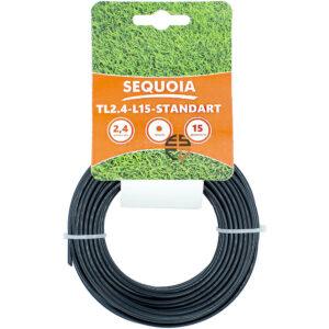 Косильна волосінь SEQUOIA TL2.4-L15-Standart SEQUOIA