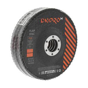 Круг пелюстковий торцевий Dnipro-M Р120 125 5 шт/уп ДНІПРО-М
