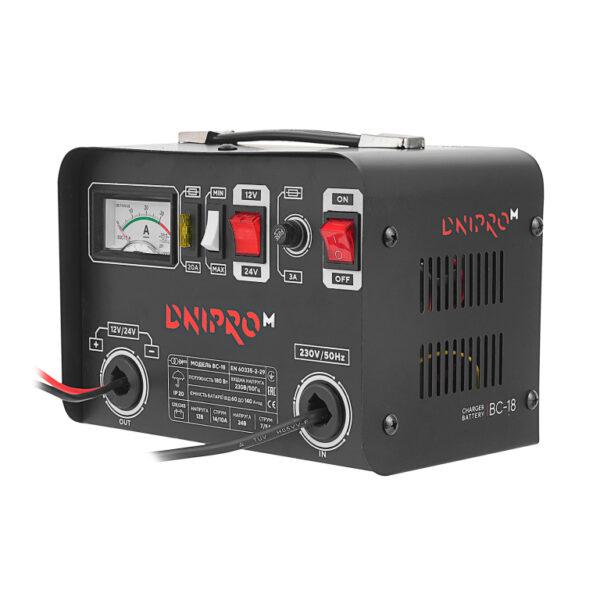 Зарядний пристрій Dnipro-M BC-18 ДНІПРО-М