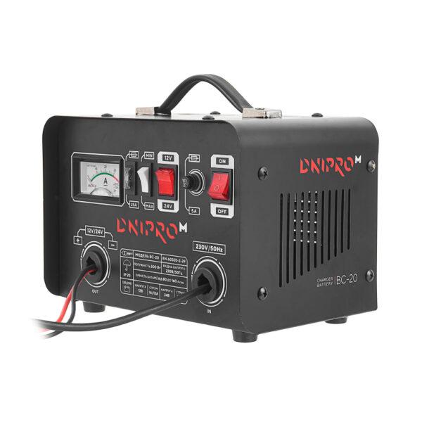 Зарядний пристрій Dnipro-M BC-20 ДНІПРО-М