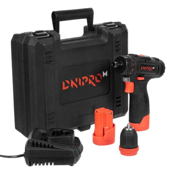 Акумуляторний дриль-шуруповерт Dnipro-M CD-122Q ДНІПРО-М