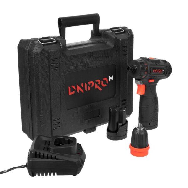 Акумуляторний дриль-шуруповерт Dnipro-M CD-123QS ДНІПРО-М