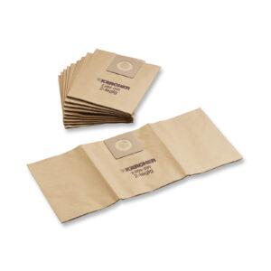 5 паперових фільтр-мішків NT 361 Eco моделей KARCHER