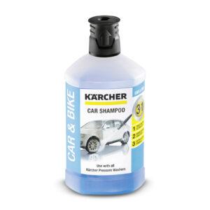 Автомобільный шампунь Plug 'n' Clean 3-в-1, 1 л KARCHER