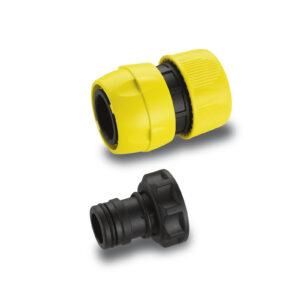 Комплект Premium для підключення шлангів 3/4, Конектор швидкознімний, штуцер G1 ВР KARCHER