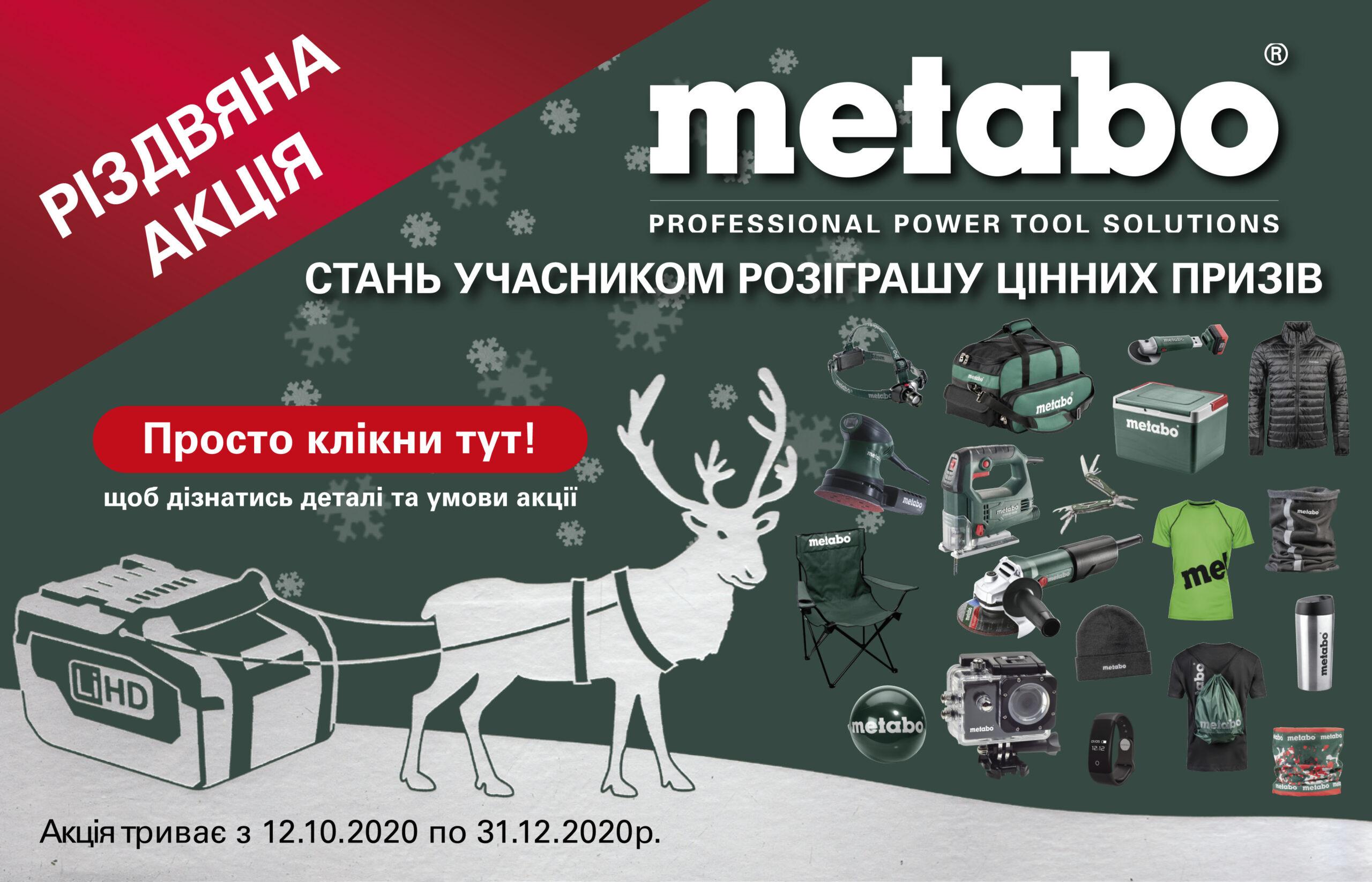 Metabo акція