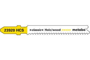 5 пилкових полотен Metabo для лобзиків «basic wood». 66 мм/progr. (623920000)