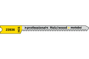 5 пильних U — подібних полотен Metabo для лобзика. для деревини. profess. 52/1.3 мм (623936000)