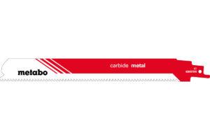 Пилкове полотно Metabo для шабельної пилки «carbide metal». 225 x 1.25 мм (626557000)