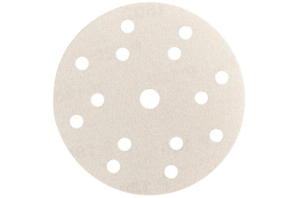 50 шліфувальних аркушів Metabo на липучках 150 мм, P240, фарба, «multi-hole» (626689000)