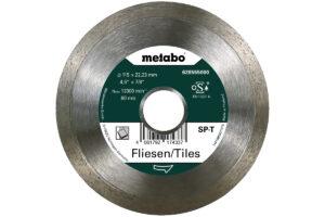 Алмазний відрізний круг 115×22,23мм, «SP-T», плитка «SP» (628555000)Metabo