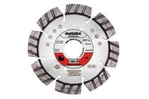 Алмазний відрізний круг 115×22,23мм, «CP», бетон «professional» (628570000)Metabo