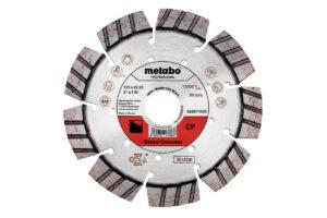 Алмазний відрізний круг 125×22,23мм, «CP», бетон «professional» (628571000)Metabo