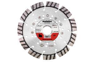 Алмазний відрізний круг 150×22,23мм, «CP», бетон «professional» (628572000)Metabo