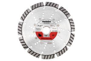 Алмазний відрізний круг 180×22,23мм, «CP», бетон «professional» (628573000)Metabo