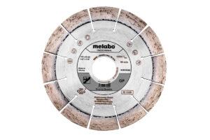 Алмазний відрізний круг 115×22,23мм, «GP», граніт «professional» (628575000)Metabo