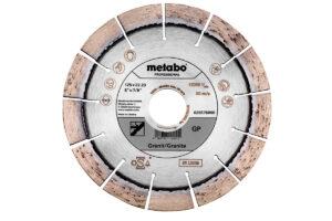 Алмазний відрізний круг 125×22,23мм, «GP», граніт «professional» (628576000)Metabo