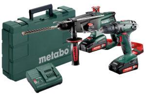 Акумуляторні інструменти в комплекті Combo Set Metabo 2.3.2 18 В (685083000)