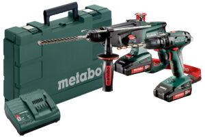 Акумуляторні інструменти в комплекті Combo Set Metabo 2.3.4 18 В (685090000)