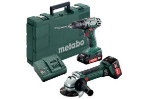 Акумуляторні інструменти в комплекті Combo Set Metabo 2.4.3 18 В (685082000)